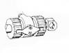 Цилиндр тормозной колесный левый КСК-100 (54-4-4-1-4)